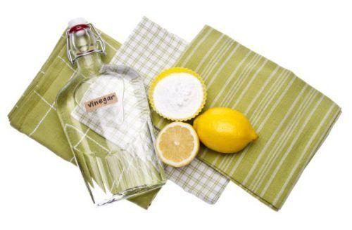 Оцет і лимон