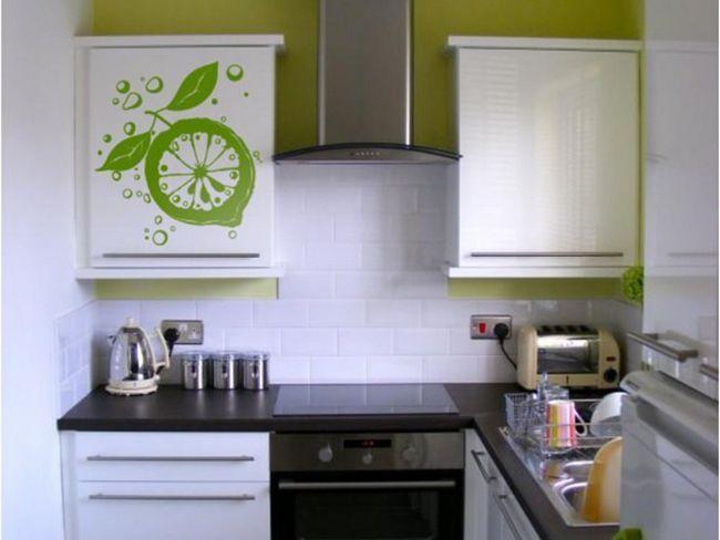 Оздоблення маленької кухні