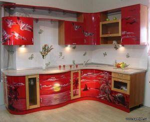 Декор на стінах в кухні