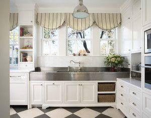 Кухня в стилі Прованс кухонні штори