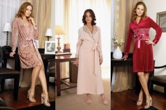 Якою має бути домашній одяг або все, що ви хотіли знати про жіночі халатах