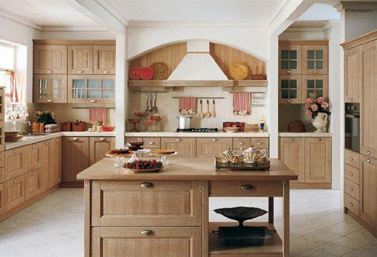Інтер`єр на кухні в стилі кантрі