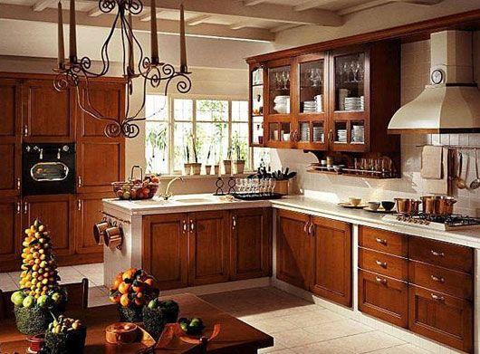 кухні в стилі кантрі