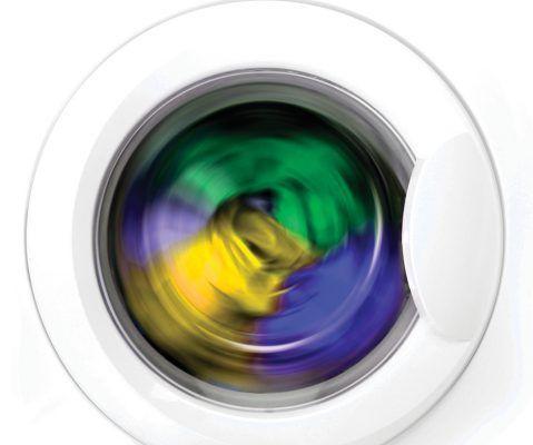 Віджимання в пральній машинці