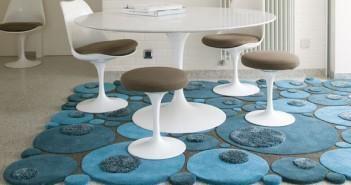 Килимок на підлогу на кухню: тепло, затишно і красиво
