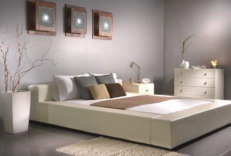 ліжко в стилі мінімалізм