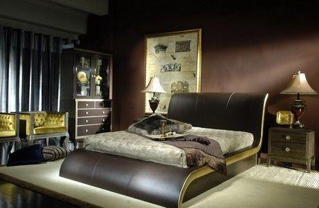 спальня гламурна