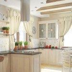 біла кухня в стилі провал