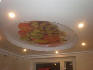 Малюнок на натяжній стелі