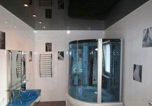 Натяжна стеля у ванній: створи собі настрій