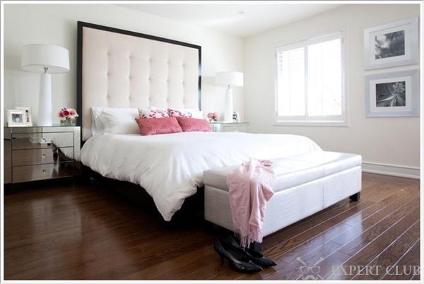 Оббивка ліжка як елемент декору