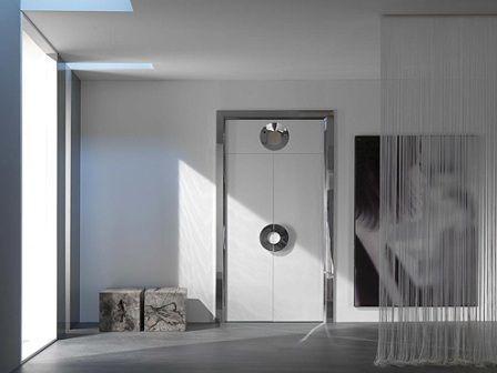 міжкімнатні двері в стилі хай тек