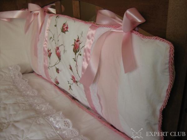 М`який бортик в ліжечко