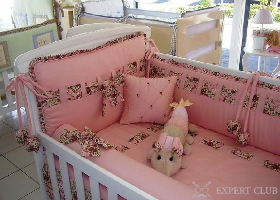 Цілісна модель бортика в дитяче ліжечко