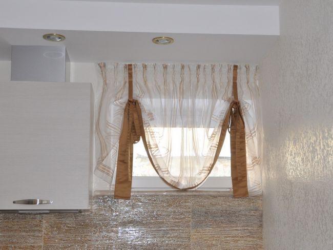 Прозора тканина для австрійських штор