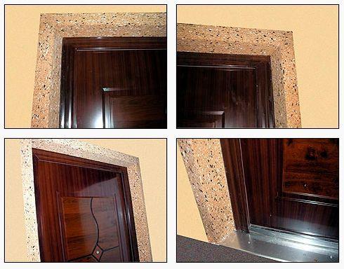 Укоси для вхідних дверей з МДФ