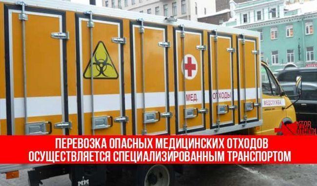 транспортування медотходов
