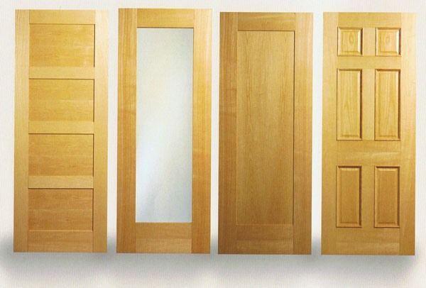 Двері з масиву ясеня