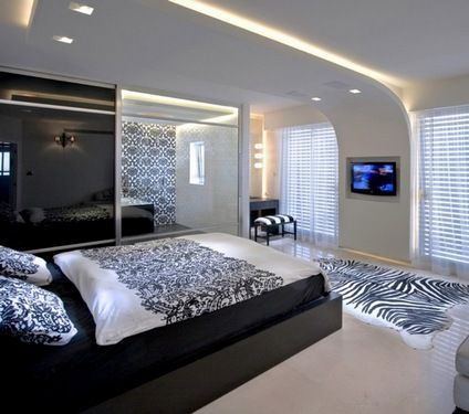 дизайн стелі для спальні
