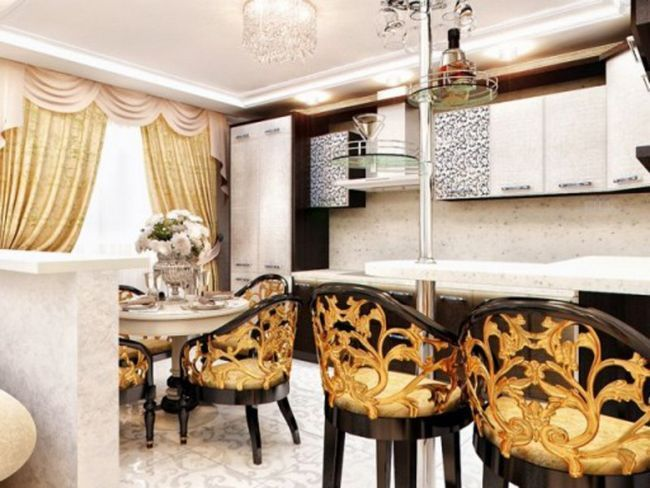 Кухня в стилі арт-деко