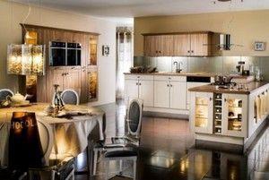 Кухня у виконанні класичного арт-деко