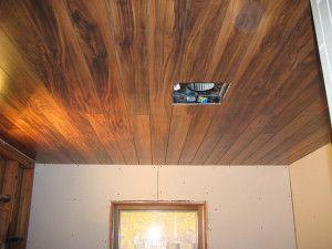 ламінат на стелі