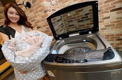 Прання бамбукового ковдри в пральній машинці