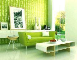 Інтер`єр передпокою в зеленому кольорі