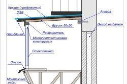 Розширення балкона по підлозі і підвіконню