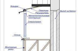 Розширення балкона по підлозі