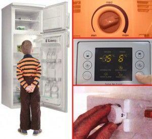 Ремонт холодильника (компресор працює, а холоду немає)