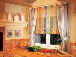 Як правильно вибрати штори для кухні