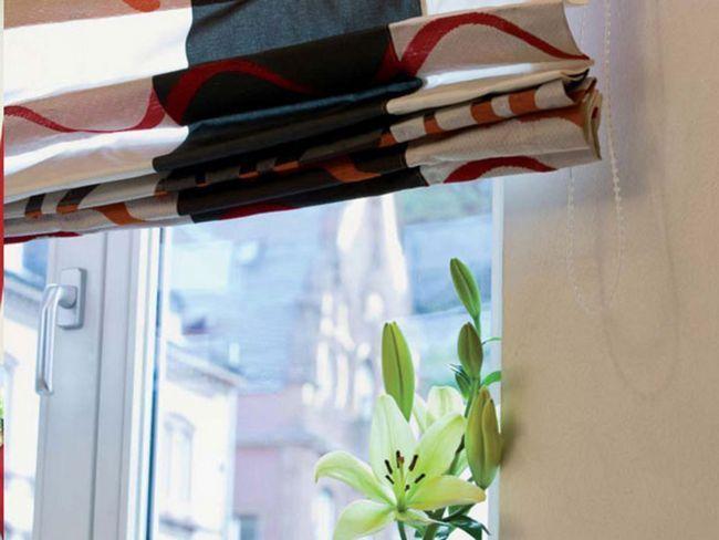 Як повісити римські штори
