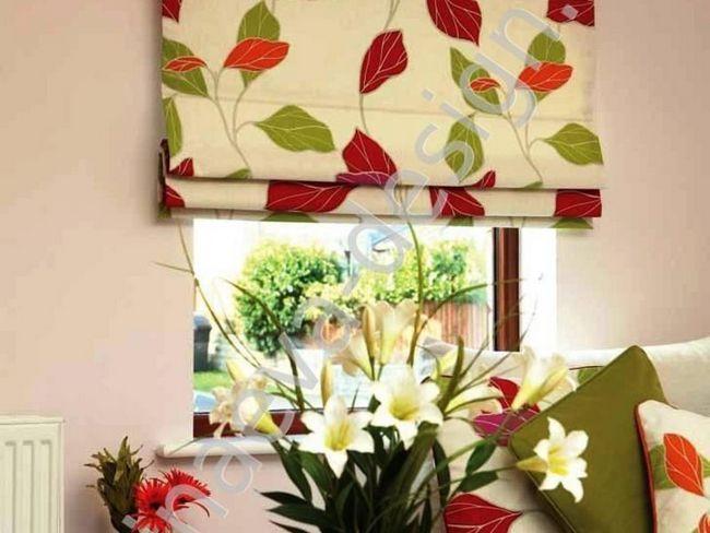 Як підібрати римські штори в кухню