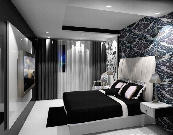 Сірий колір в чорно-білих інтер`єрах
