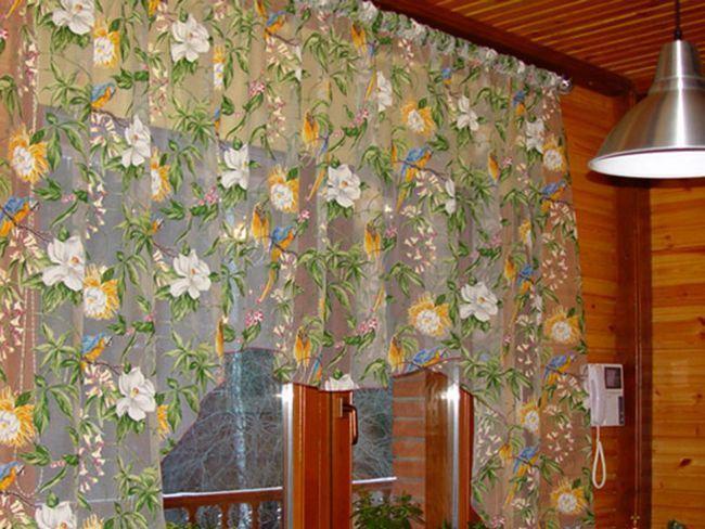 Кухонні штори