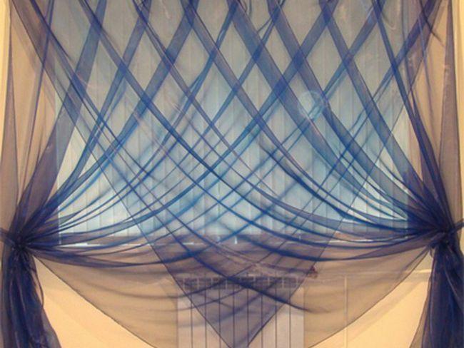 Незвично розвішані штори