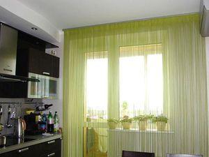 Кухонні штори-нитки