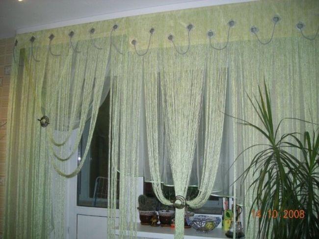 Дизайн збірки Нитяні штори