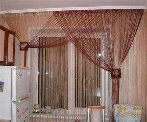штори мотузкові