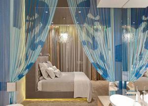 Інтер`єр романтичної спальні