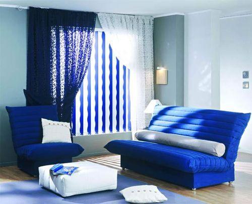 Синій колір в інтер`єрі