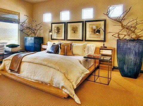 дизайн спальні в стилі Африки