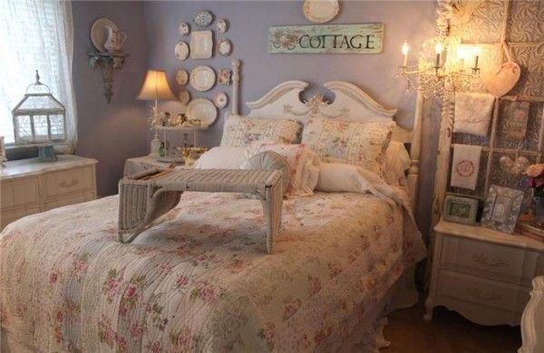 Спальня в стилі шеббі шик своїми руками