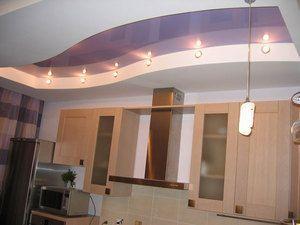Специфіка дизайну стель з гіпсокартону на кухні з фото