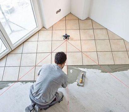 Способи укладання плитки на підлогу