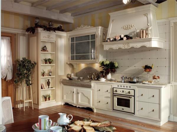 стиль прованс в інтер`єрі кухні