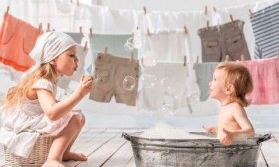 Прання дитячої білизни