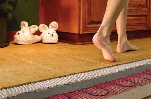 Тепла підлога своїми руками