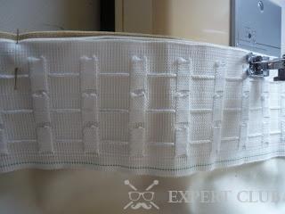 Пришивання тасьми - відповідальний процес